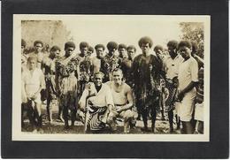 CPA Fidji Océanie Ethnic Type Carte Photo RPPC Non Circulé - Fiji