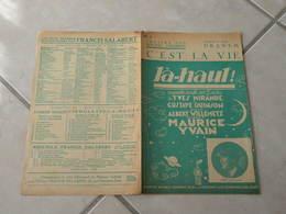 C'est La Vie (Opérette Bouffe Là Haut)-(Paroles A. Willemetz)-(Musique M.Yvain) Partition 1923 - Musique & Instruments