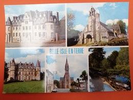 -Belle Isle En Terre-carte Multi Vues- - Francia