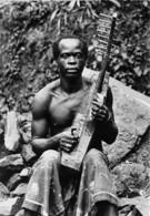 Republique Du GABON Musicien 14(scan Recto-verso) MA211 - Gabon