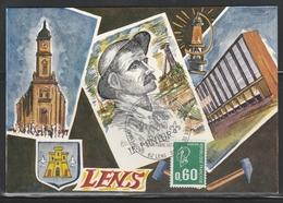 OBLIT. ILLUSTRÉE CONGRES LENS 10/74 - Postmark Collection (Covers)