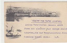 Alger - Karte Eines Ansichtskartensammlers 1898 !!    (A-74-160126) - Argelia