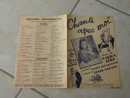 Chante Avec Moi (film Le Démon De La Danse)(Marina Rökk) -(Paroles H. Lemarchand)-(Musique F. Grothe) Partition - Compositeurs De Musique De Film