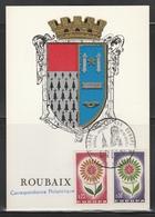 OBLIT. ILLUSTRÉE JUMELAGE ROUBAIX / BRUGES - Postmark Collection (Covers)