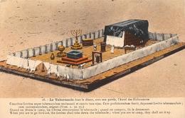 16 Le Tabernacle Dans Le Désert , Avec Son Parvis , L'Autel Des Holocaustes JUDAICA - Israel