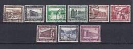 Deutsches Reich - 1936 - Michel Nr. 634/642 - Gest. - 20 Euro - Deutschland