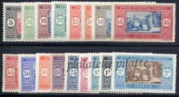 -Sénégal   72/86** - Sénégal (1887-1944)