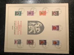 Feuillet Charity 1940 Oblitéré - Belgique