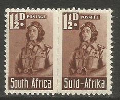 South Africa - 1942 Airman 1.5d Pair MNH **   SG 99a - South Africa (...-1961)