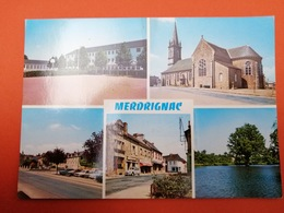 -Merdrignac-Carte Multi Vues- - France