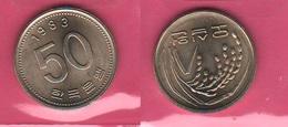 50 Won 1983 Corea Korea South FAO - Corea Del Sud