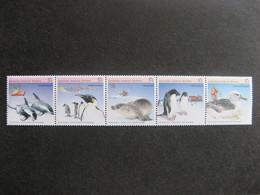 Territoire Antarctique Australien: TB Bande N° 79 Au N° 83, Neufs XX. - Australian Antarctic Territory (AAT)
