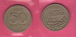 50 Won 1982 Corea Korea South FAO - Corea Del Sud