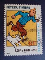 "2000-2009   Timbre  Oblitéré N°   3304   ""  Tintin Et Milou    ""   1.80 - Used Stamps"