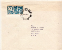 Postal History Cover: Brazil Stamp On Cover - Columbiformes