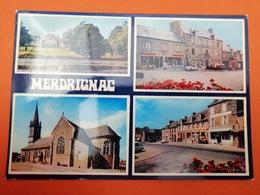 -Merdrignac-Carte Multi Vues- - Sonstige Gemeinden