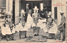 Devil Dancers Nr 145 Ceylon SRI-LANKA - Sri Lanka (Ceylon)