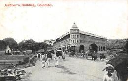 Gaffoor's Building  Ceylon SRI-LANKA - Sri Lanka (Ceylon)