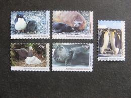 Territoire Antarctique Australien: TB Série N° 90 Au N° 94, Neufs XX. - Australian Antarctic Territory (AAT)