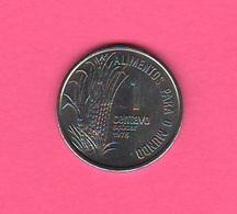 1 Centavo 1975 FAO Brasile Brazil Sugar - Brasile