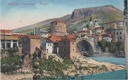 AK Mostar Мостар Römerbrücke Brücke мост Most црква Bosnien Herzegowina Bosna Bosnie Bosnia Hercegovina Herzegovine - Bosnien-Herzegowina