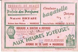 59 - Maubeuge - Buvard Publicitaire Pour 3 Sociétés Différentes - Papeterie
