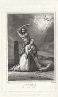 Y Décédé à1844 ST.NICOLAS.-MARIE AUGUSTINE WEEWAUTERS.-ZELDZAAM - Godsdienst & Esoterisme