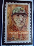 """2000-2009   Timbre  Oblitéré N° 3347     """" Norbert Casteret     """"      1 Euro - France"""