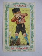 CACAO  BENSDORP   -  L'ALLEMAGNE        TTB - Publicité
