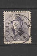 COB 169 Oblitération Centrale CHARLEROY 1B - 1919-1920 Roi Casqué
