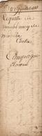 Vieux Papier Du Béarn, 1777, Requête De Moublancq De Monein Contre Campagne Claverie - Documents Historiques