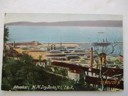 CPA POSTCARD V1915 Tarjeta Postal GIBRALTAR H M DRYDOCKS N1/2/3 GP ANIME Editor VB. CUMBO - Gibraltar