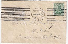DR - Berlin D2, 1906 - Masch.Stpl. A. Ortsbrief/Zierbrief M. Inhalt - Deutschland