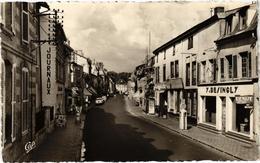 SAINTE MENEHOULD (51) La Rue Chanzy - Magasin Y. DEINGLY - Belle Carte Photo écrite Au Verso En 1961 - Sainte-Menehould