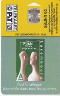 TARJETA DE LUXEMBURGO DE SELLOS (STAMP-SELLO DE CORREOS) - Stamps & Coins