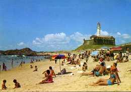 CPM - La Plage Et Le Phare - Salvador De Bahia