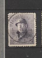 COB 169 Oblitération Centrale MARCHIENNE-AU-PONT - 1919-1920 Roi Casqué