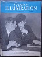FRANCE ILLUSTRATION  N°17 26 Janvier1946 Mme Roosevelt à Londres; Charles De Gaulle Quitte Le Pouvoir - 1900 - 1949