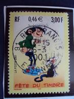 "2000-2009  - Timbre  Oblitéré   N°  3370     ""  Gaston Lagaffe    ""      0.50 - France"