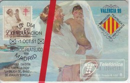 TARJETA DE ESPAÑA DE VARIOS SELLOS DE TIRADA 6100 NUEVA-MINT (STAMP) - Timbres & Monnaies