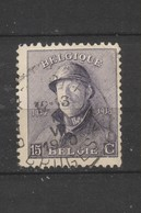 COB 169 Oblitération Centrale BRUGGE - 1919-1920 Roi Casqué