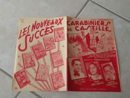 Carabinier De Castille(Lina Margy) -(Paroles F. Bonifay)-(Musique J. Jeepy & J. Ledru) Partition 1951 - Liederbücher