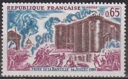 Histoire - Révolution Française - FRANCE - Prise De La Bastille - N° 1680 ** - 1971 - France