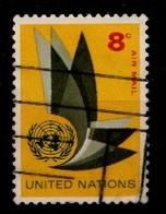 Nations Unies New-York 1963 Mi.Nr: 129 Flugpostmarke  Oblitèré / Used / Gebruikt - New-York - Siège De L'ONU