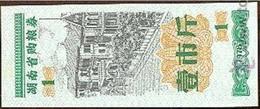 China (CUPONES) 1 Jin = 500 Gramos Hunan 1978 Ref 376-1 UNC - China