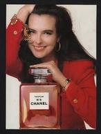 Pub 1988 Parfum Parfumeur CHANEL N° 5 Numero Carole Bouquet Parfums Flacon Ads - Publicités