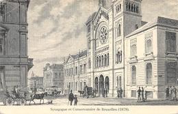 Synagogue Et Conservatorium De Bruxelles - Judaisme