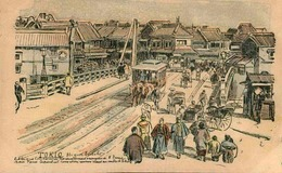 JAPON - Carte Postale - Tokyo - Illustrateur - L 29881 - Tokyo