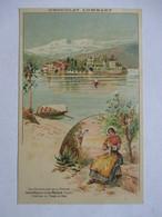 CHOCOLAT LOMBARD    -  ISOLA BELLA  &  LAC MAJEUR    ( ITALIE  )           TTB - Publicité