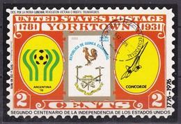 Guinea Equatoriale, 1976 - 2c United States Anniversary - Nr.7675 Usato° - Guinea Equatoriale